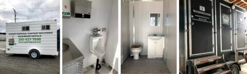Portable Washroom Trailer Rental