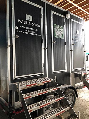 Terrace Washroom Trailer Rental